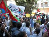 مظاهرة نصرة المظلوم التي نظمتها مجموعة شباب 24 من مايو الارترية فى القاهرة - مايو 2011