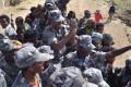 مقاتلى الجبهة الديمقراطية الارترية المتحدة على الحدود الاثيوبية فى اغسطس 2013 (صفحة الحركة فيسبوك )