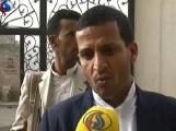 القيادي في جماعة الحوثي حسين العزي (قناة العالم الايرانية )