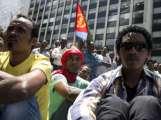 المظاهرة جاءت بعد نشر تقرير يشير إلى انتهاكات حقوق الإنسان في ارتيريا تصل إلى جرائم حرب ضد الإنسانية (i24news.tv)