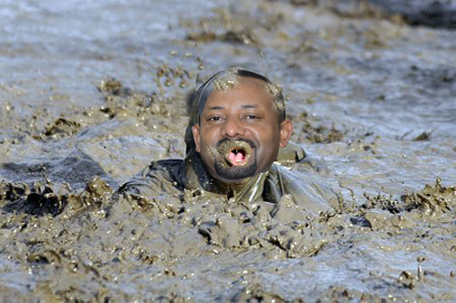 An edited image for Abiy Ahmed done by farajat.net