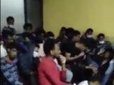 شباب معتقلين على خلفية عرقية في اديس ابابا (مواقع التواصل الاجتماعى )